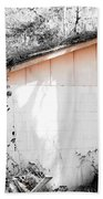 Rosey Hues Of Emptiness Bath Towel