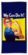 Rosie The Rivetor Hand Towel