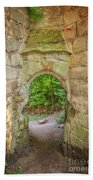 Rosslyn Castle Forest Entry Bath Towel