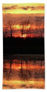 Rosy Mist Sunrise Bath Towel