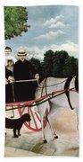 Rousseau: Cart, 1908 Bath Towel