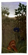 Rousseau: Lion Bath Towel