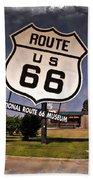 Route 66 Museum - Impressions Bath Towel