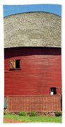 Route 66 - Round Barn Bath Towel