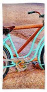 Route 66 Vintage Bicycle Bath Towel