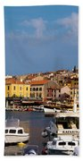 Rovinj Harbour Hand Towel