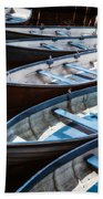 Rowing Boats Bath Towel
