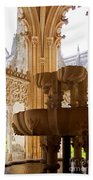Royal Cloister Of The Batalha Monastery Bath Towel