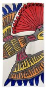 Royal Flycatcher- Mayan 2 Bath Towel