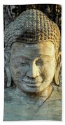 Royal Palace Buddha 02  Bath Towel