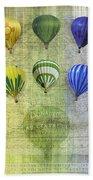Roygbiv Balloons Bath Towel