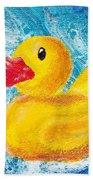 Rubber Ducky Bath Towel