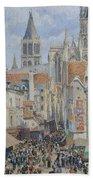 Rue De L'epicerie, Rouen Bath Towel