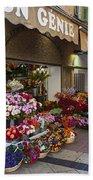 Rue Pairoliere In Nice Bath Towel