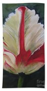 Ruffled Tulip  Bath Towel