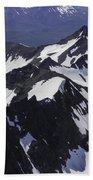 Rugged Mountain Peaks Bath Towel