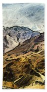Rugged Mountains Of North India Bath Towel