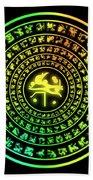 Runes Bath Towel
