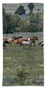 Running Wild Horses  Bath Towel