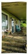 Rural Front Porch Hand Towel