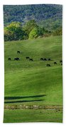 Rural Life Bath Towel