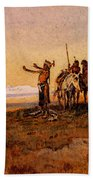 Russell Charles Marion Invocation To The Sun Bath Towel
