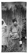Russia: Convicts, C1885 Hand Towel