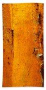 Rust Abstract 2 Bath Towel