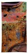 Rusted Beauty Bath Towel