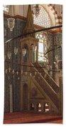 Rustem Pasha Mosque Interior Bath Towel