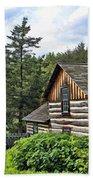 Rustic Farmhouse At Old World Wisconsin Bath Towel