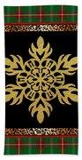 Rustic Snowflake-jp3690 Hand Towel