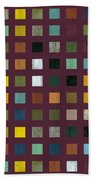 Rustic Wooden Abstract Vlll Bath Towel