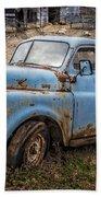 Rusty Blue Dodge Bath Towel