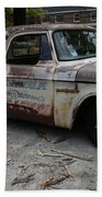 Rusty Old Dodge Hand Towel