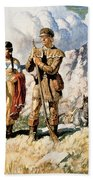 Sacagawea With Lewis And Clark During Their Expedition Of 1804-06 Bath Towel