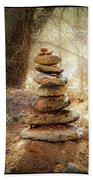 Sacred Cairn Bath Towel