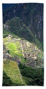 Sacred City Of Machu Picchu Bath Towel