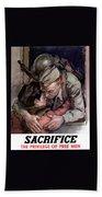 Sacrifice - The Privilege Of Free Men Hand Towel