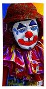 Sad Clown Hand Towel