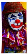 Sad Clown Bath Towel