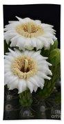 Saguaro Blooms II Bath Towel