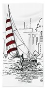 Sail Away Bath Towel