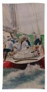 Sailing Teamwork Bath Towel