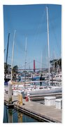 Sailing To The Golden Gate Bath Towel