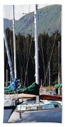 Sails Of Seldovia Bath Towel