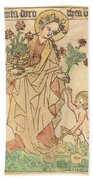 Saint Dorothy Bath Towel