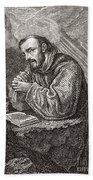 Saint Francis Of Assisi Hand Towel