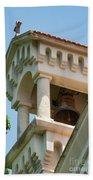 Saint John The Baptist Bell Tower Hand Towel