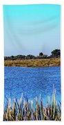 Saint Marks National Wildlife Refuge Lagoon Bath Towel